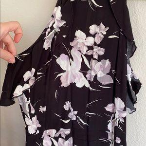 Leith Dresses - Maxi floral black dress